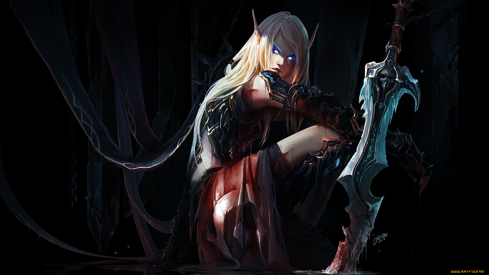 Blood elves art hentai picture